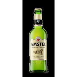Амстел 0.500 стъклена бутилка