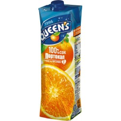 куинс 1 литър портокал 100 %