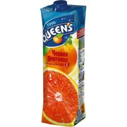 куинс 1 литър червен портокал