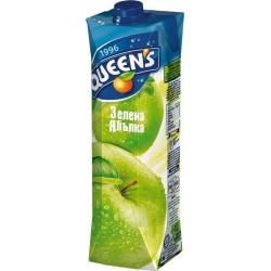 куинс 1 литър зелена ябълка