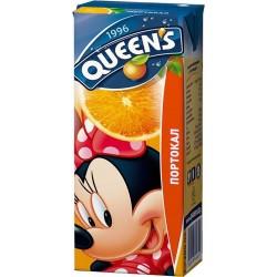 куинс сламка 0.200 л. портокал