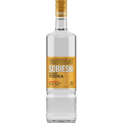 водка собиески 1 л. златен