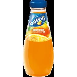 куинс 0.250 стъкло портокал