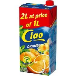 сок CIAO 2 литра портокал
