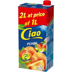 сок CIAO 2 литра праскова