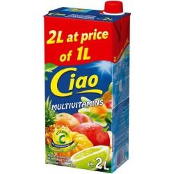сок CIAO 2 литра мултивитамин