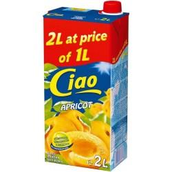 сок CIAO 2 литра кайсия