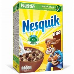 Nesquik Duo зърнена закуска...
