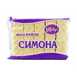 Симона Бяла мини вафли 10...
