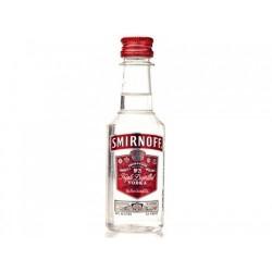 водка смирноф миниатюра...