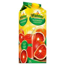 сок пфанер 2 литра червен...