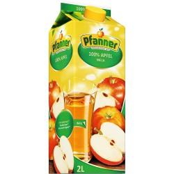 сок пфанер 2 литра ябълка...