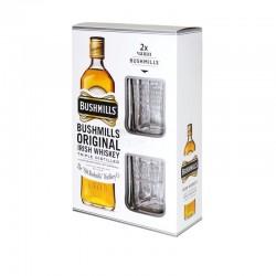 уиски бушмилс 0.7 с две чаши