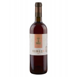 червено вино ретро памид...