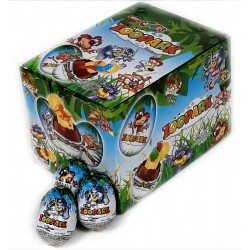 Шоколадови яйца Зоопарк 24...