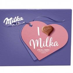 Milka бонбони Ягодов крем...