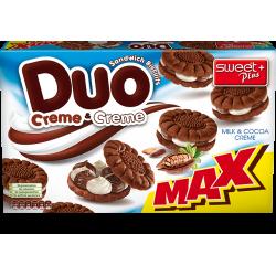 Дуо бисквити с млечен и...