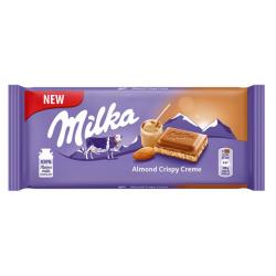 Milka шоколад бадем 90 гр.