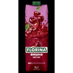 сок флорина 1 литър вишна