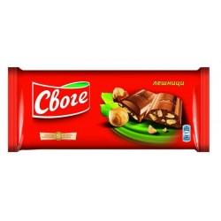 Своге шоколад трошен лешник...