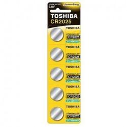 Toshiba Батерии CR2025 5 бр.