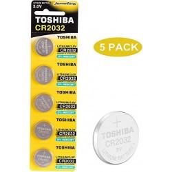 Toshiba Батерии CR2032 5 бр.