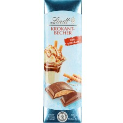 Линдт шоколад крокант 100 гр.